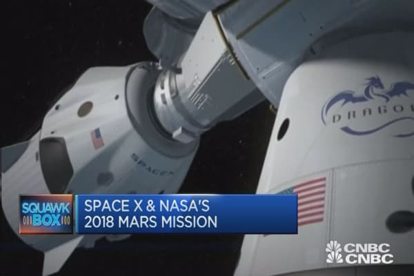 robotic mars mission 2018 - photo #18
