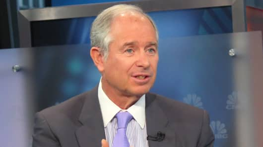 Steve Schwarzman, chairman, CEO and co-founder of Blackstone