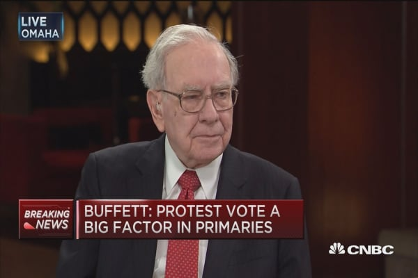 Why voters are mad: Buffett