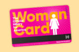 Woman's Card Hillary Clinton