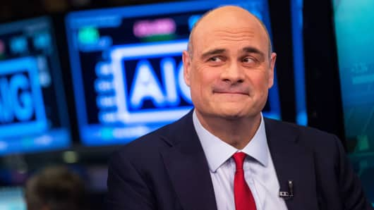 CEO ouster takes AIG from frying pan to fire