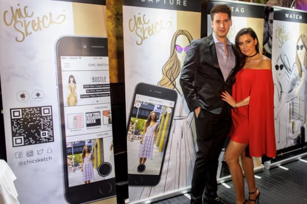 Jordan Edelson and Emily Brickel Edelson, co-founders of Chic Sketch