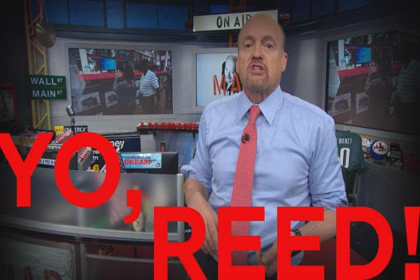 Cramer Remix: I've got a memo for Netflix's CEO Reed Hastings