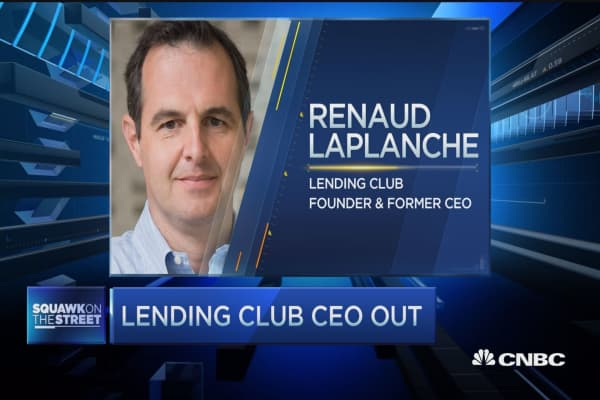 Lending Club CEO out
