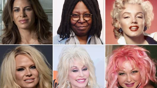 Celebrities who have suffered from endometriosis: Jillian Michaels, Whoopi Golberg, Marilyn Monroe, Pamela Anderson, Dolly Parton, Cyndi Lauper.