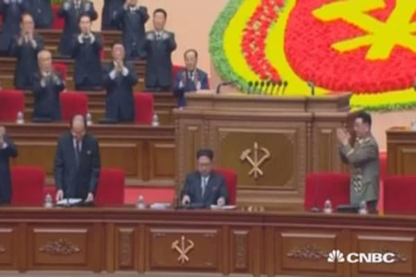 Colorful mass rally in North Korea to close congress