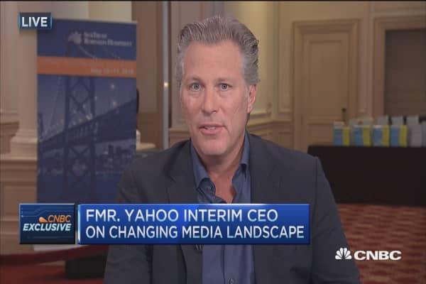 Fmr. Yahoo interim CEO on changing media landscape