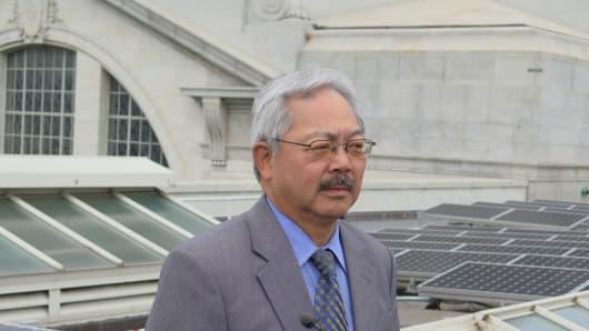 Mayor Edwin M. Lee, of San Francisco, California