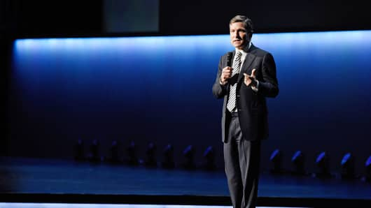 Steve Burke, Chief Executive Officer, NBCUniversal during the 2016 NBCUniversal Upfronts