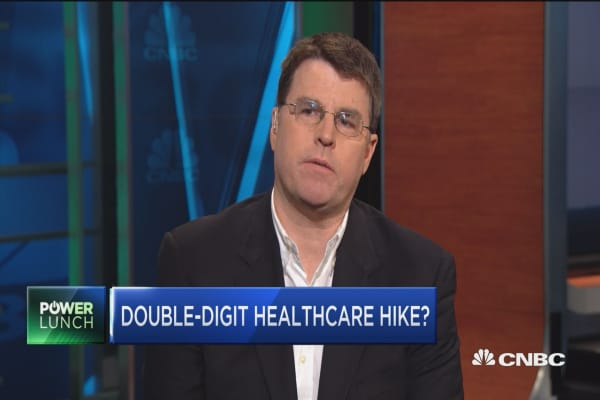 Double-digit healthcare hike?