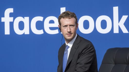 Facebook boss, Mark Zuckerberg