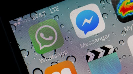 WhatsApp and Messenger are highly popular messaging apps.