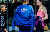 Adidas clothing during fashion week