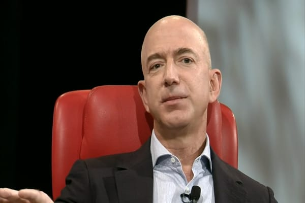 Amazon's Bezos: Hard to overstate impact of AI