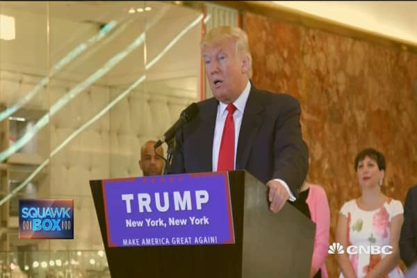 Donald Trump redefines politics