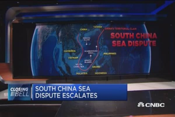 South China Sea dispute escalates