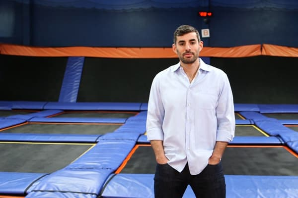 Jeff Platt, Sky Zone CEO