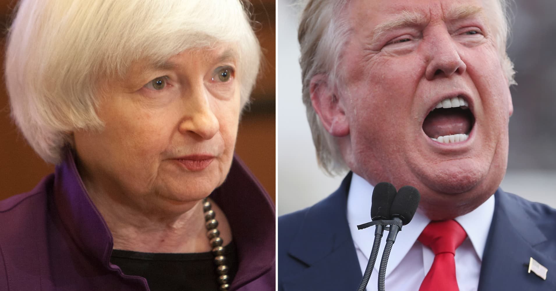 A Donald Trump vs. Janet Yellen clash is getting closer to happening
