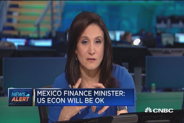 Mexico FM: US economy will be OK