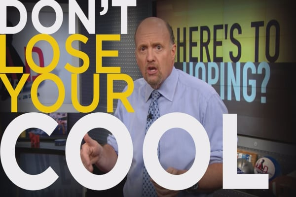 Cramer Remix: Rules for when the market goes haywire
