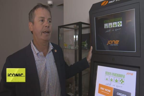 Meet Jane, the cannabis industry's kiosk solution