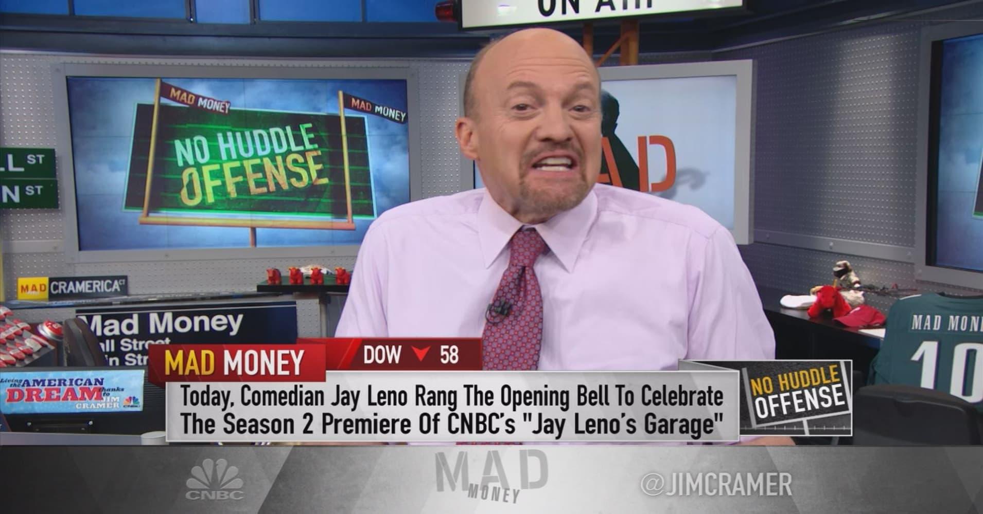 Cramer: Jay Leno's shocking wake-up call on Tesla