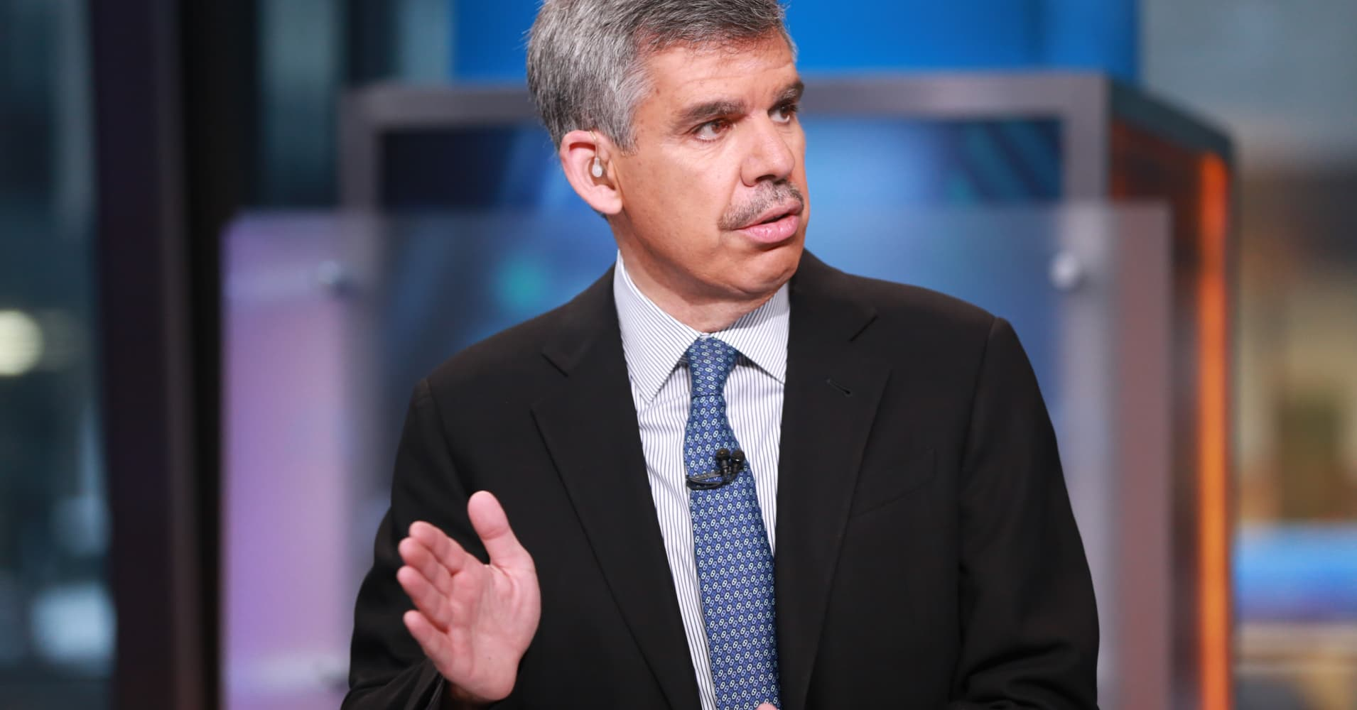 The Trump trade is taking a back seat in the stock rally, Mohamed El-Erian says