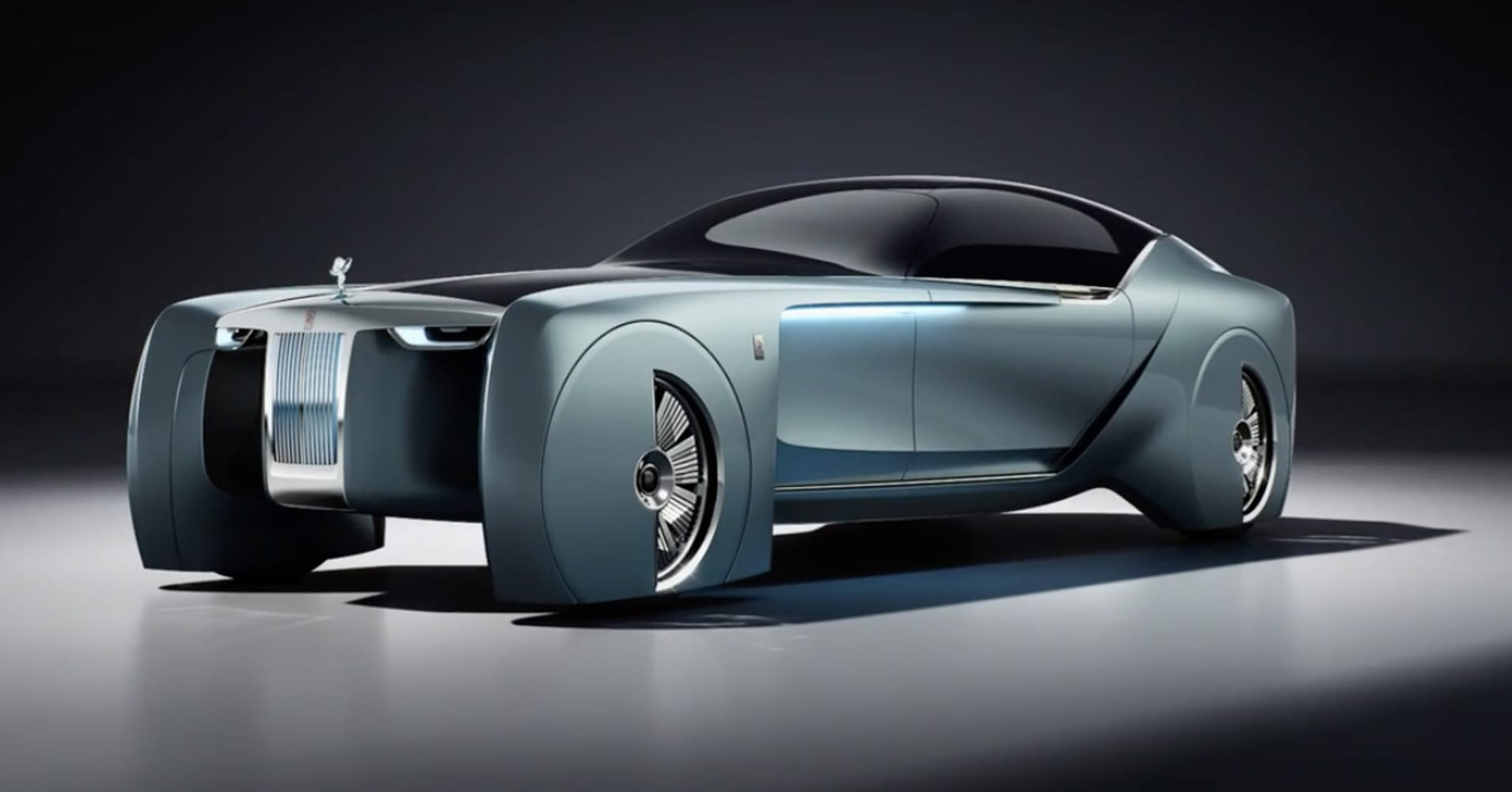 Rolls royce ditches the chauffeur in this futuristic for Rolls royce auto