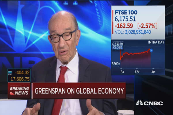 This has a corrosive effect: Greenspan
