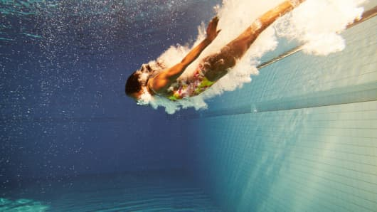 Diving diver down