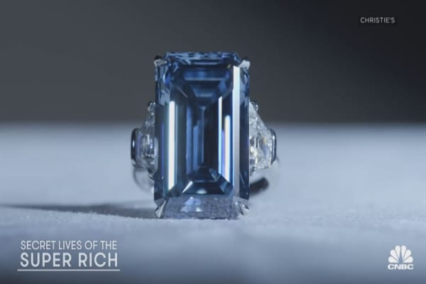 Secret Lives of the Super Rich: Producer's Notebook - All About Diamonds
