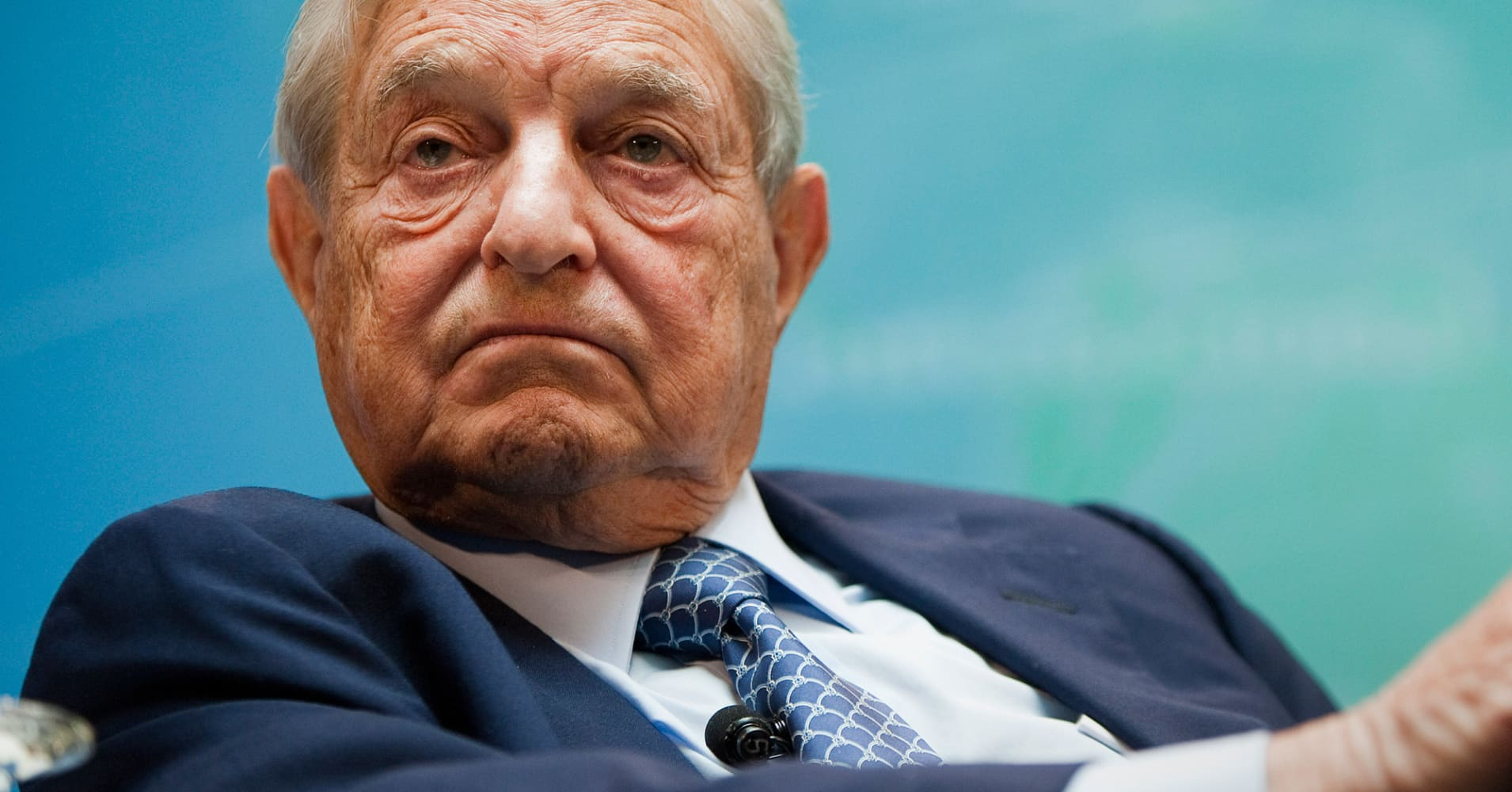 Billionaire George Soros reportedly lost nearly $1 billion during Trump rally