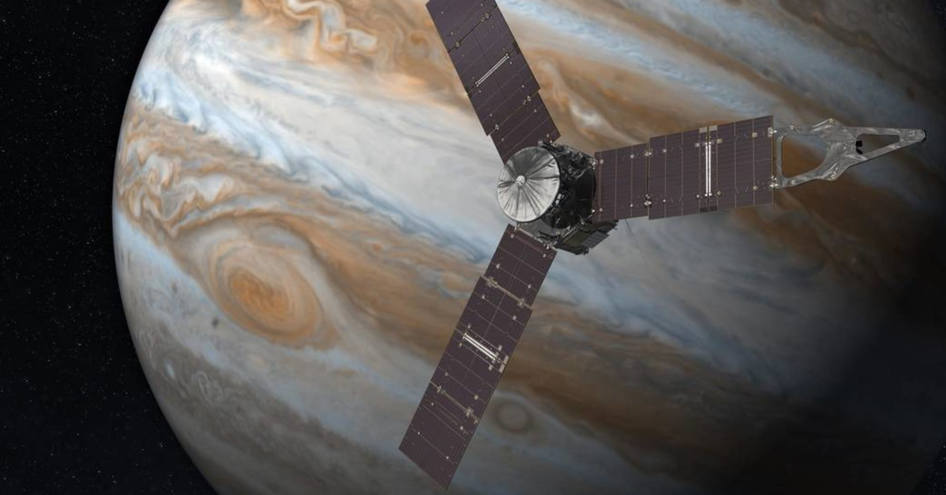 nasa s juno spacecraft enters jupiter s orbit after year journey