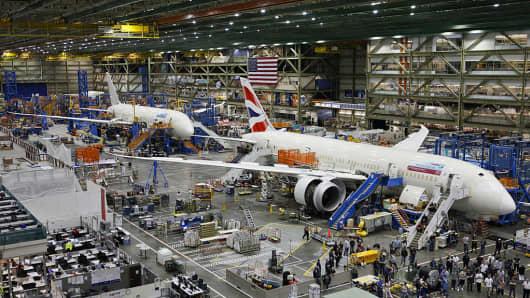 Boeing third-quarter profit jumps; raises delivery and revenue forecasts