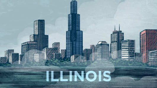 Top States Illinois