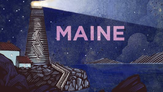 Top States Maine