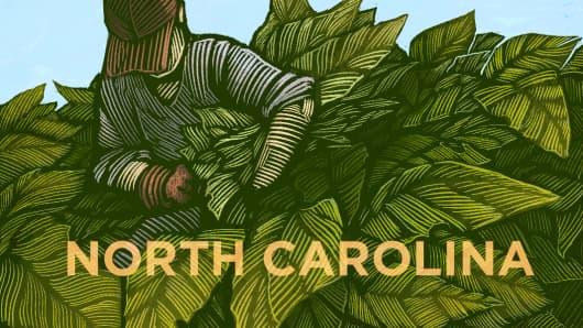Top States North Carolina