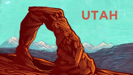 Top States Utah