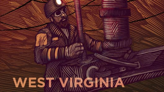 Top States West Virginia