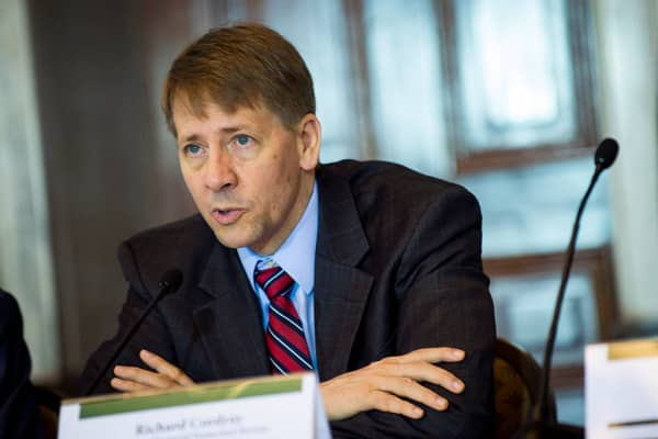 Director of the Consumer Financial Protection Bureau, Richard Cordray Director of the Consumer Financial Protection Bureau, Richard Cordray