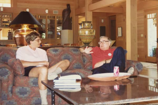 The most important thing I've learned from Warren Buffett Bill Gates House And Family