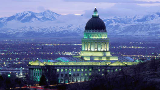 Utah's state capitol building, Salt Lake City