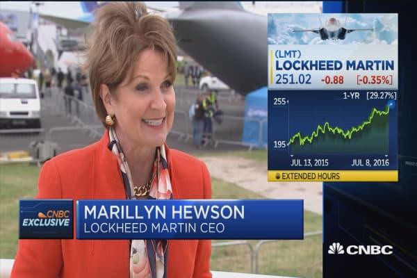 Lockheed debuts F-35: CEO