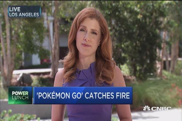 Pokémon Go boosts Nintendo's market value