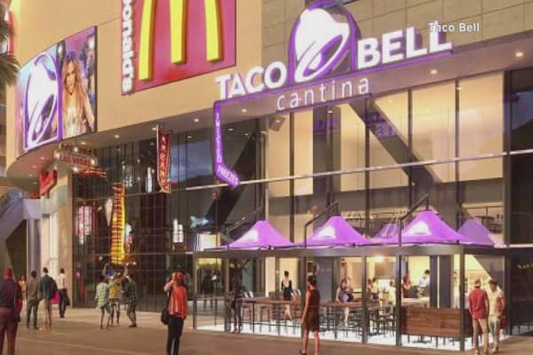 Taco Bell taking a gamble on Las Vegas