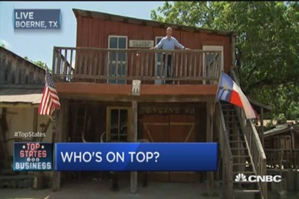 Texas is top of the tops