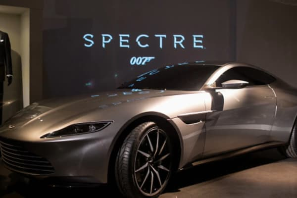 aston martin db10 price with Jay Leno Goes Inside The Aston Martin Vault And Drives The Latest Bond Car on The New 2018 Aston Martin Vantage Revealed In Pictures in addition Jay Leno Goes Inside The Aston Martin Vault And Drives The Latest Bond Car as well New Trailer James Bonds Spectre Here And It Rocks besides New aston martin 2011 concept car veloce sweden further Bulletproof Driving James Bonds Aston Martin Db5 Dbs And Db10.