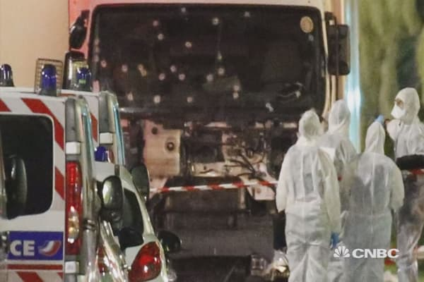84 people killed in Nice attack