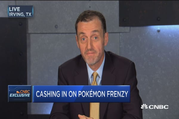 Sales up 100% in stores with Poke stops: GameStop CEO