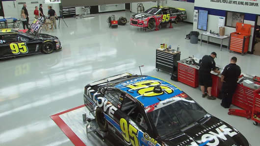 The Circle Sport-Leavine Family Racing headquarters in Concord, NC